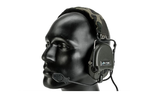 Z-Tactical zTEA Hi-Threat Tier 1 z110 Amplified Headset - Niagara Quartermaster