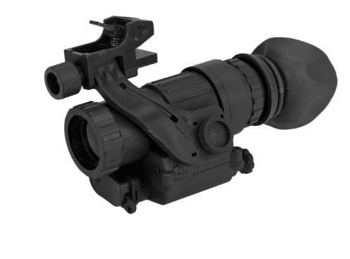 Avengers PVS Style 4X Magnifier with Integrated Laser Helmet and Rifle Mount included - Niagara Quartermaster