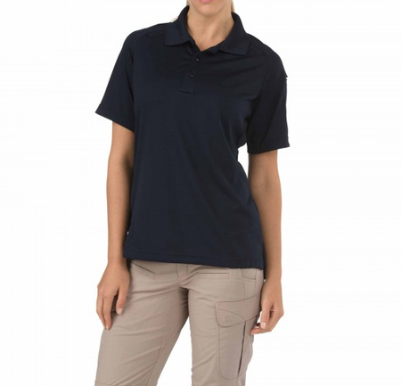 5.11 Women's Performance Short Sleeve Polo - Black