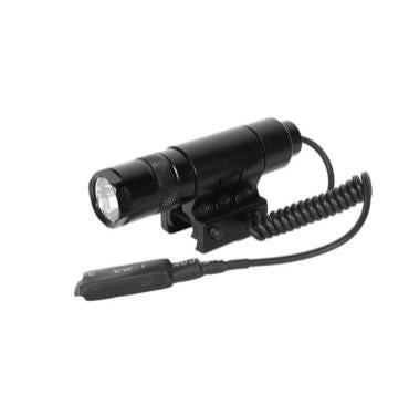 AIM Sports Metal LED 90 Lumen Flashlight w/ Mount and Pressure Switch