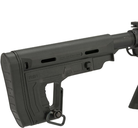APS RS-1 Retractable Stock for AEGs - Black