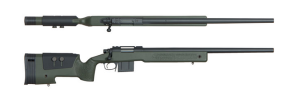 Ares Macmillan MCM700X (Official Licence) Sniper Rifle - OD - Niagara Quartermaster