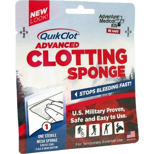 Adventure Medical QuikClot Advanced Clotting Sponge - Niagara Quartermaster