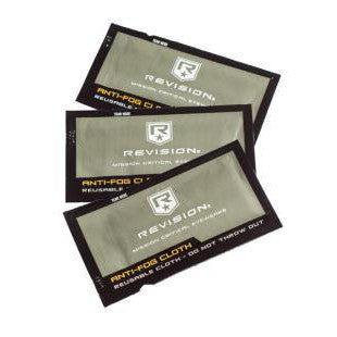 Revision Anti Fog Wipes (3pc)