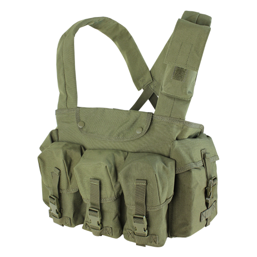 Condor 7-Pocket Chest Rig - Olive