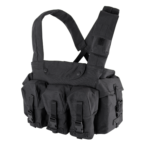 Condor 7-Pocket Chest Rig - Black