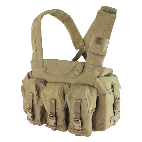 Condor 7-Pocket Chest Rig - Tan