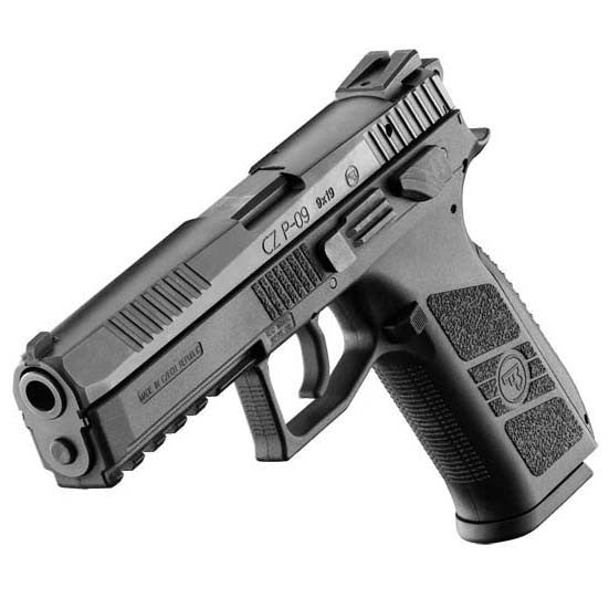 KJW CZ P-09 Duty GBBP with Threaded Barrel - Niagara Quartermaster