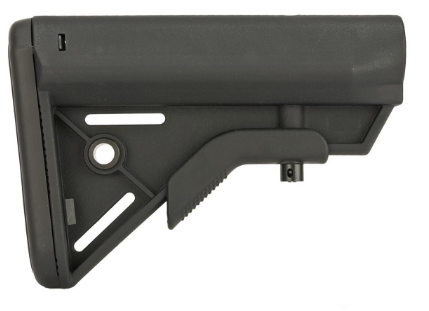 Dytac SOPMOD Retractable Crane Stock AEG - Black - Niagara Quartermaster