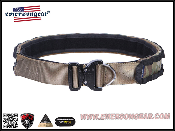 "Emerson Gear Blue Label COBRA 1.75"" Combat Belt with Rappelling Ring"