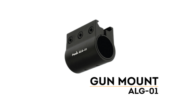 Fenix ALG-01 Flashlight Rail Mount - Niagara Quartermaster