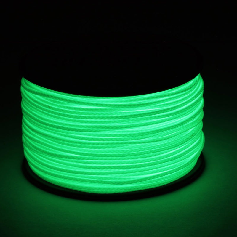 Atwood Rope 1.88mm Braided Microcord - Glow in the Dark