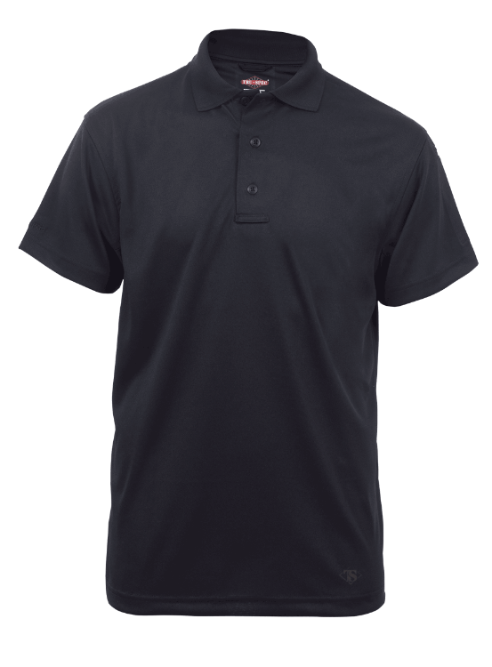 Tru-spec 24/7 Series Short Sleeve Performance Polo - Black - Niagara Quartermaster