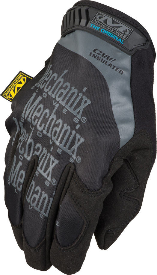 Mechanix Wear: Original Insulated Gloves - Black - Niagara Quartermaster
