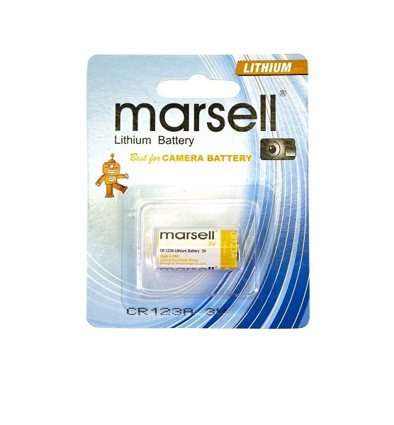 Marsell CR123A 3V Lithium Battery