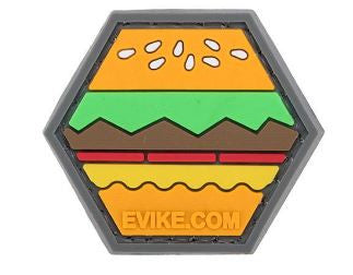 """Operator Profile PVC Hex Patch"" - Hamburger"
