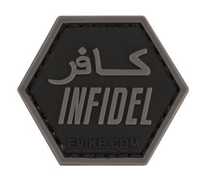 """Operator Profile PVC Hex Patch"" - Infidel"