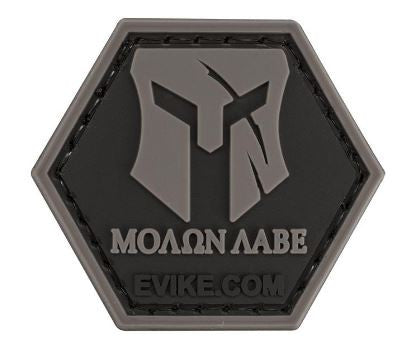 """Operator Profile PVC Hex Patch"" - Molon Labe - Niagara Quartermaster"