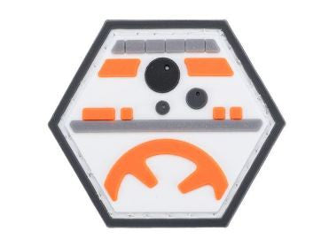 """Operator Profile PVC Hex Patch"" - Rolling Droid"