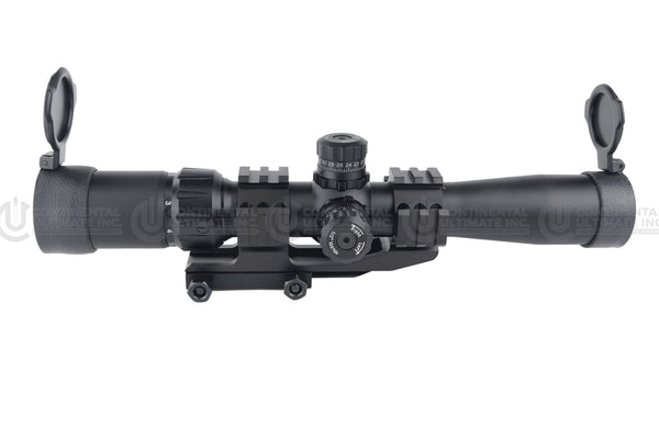 Precision Dynamics 2-7x32 Illuminated Scope - Black