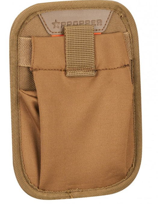 Propper™ 7X5 Stretch Dump Pocket with MOLLE - Coyote