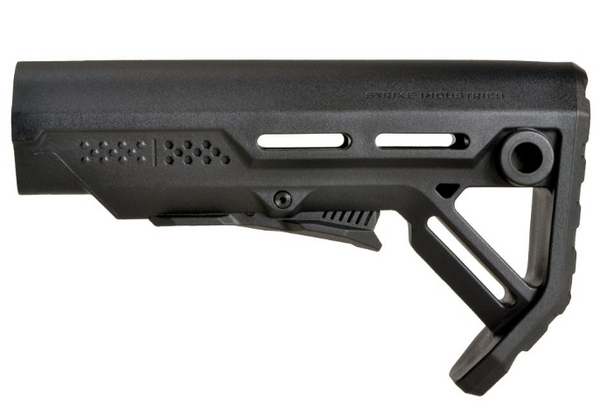 Strike Industries Viper Mod1 adjustable Stock for AEGs - Black - Niagara Quartermaster