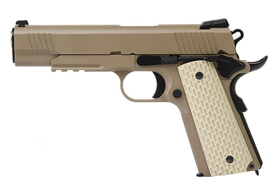 WE 1911 Kimber GBBP - Tan - Niagara Quartermaster