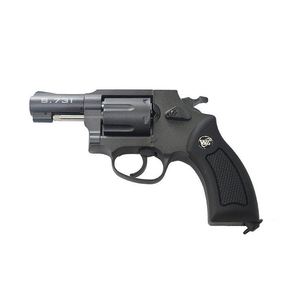 Wingun 731B CO2 Revolver - Black