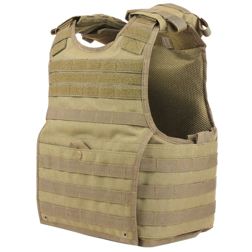 Condor EXO Plate Carrier - L/XL - Tan