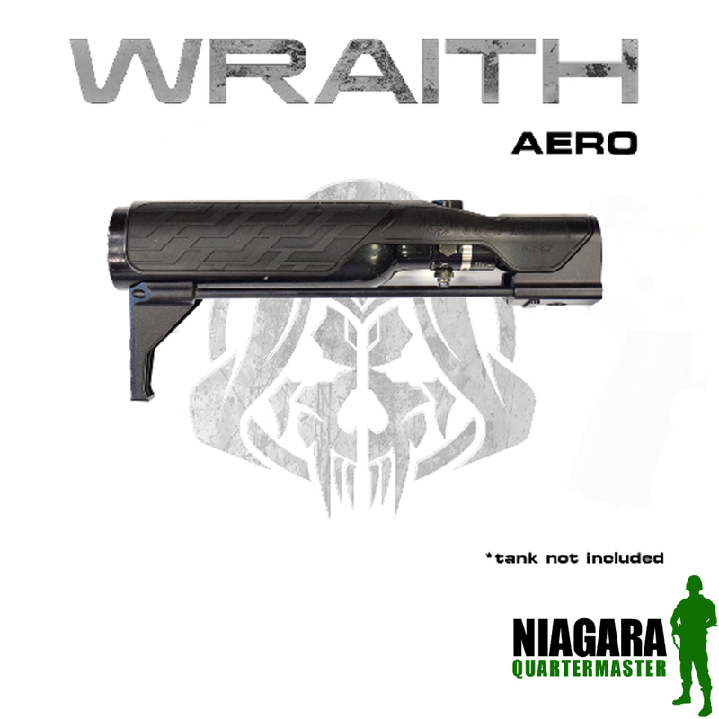 Wolverine Wraith Aero Stock for the MTW HPA Rifle