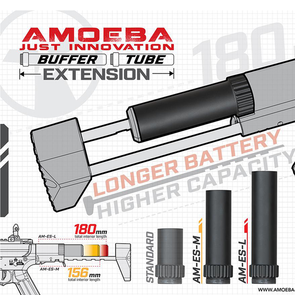 Amoeba Buffer Tube Extension for AM-016