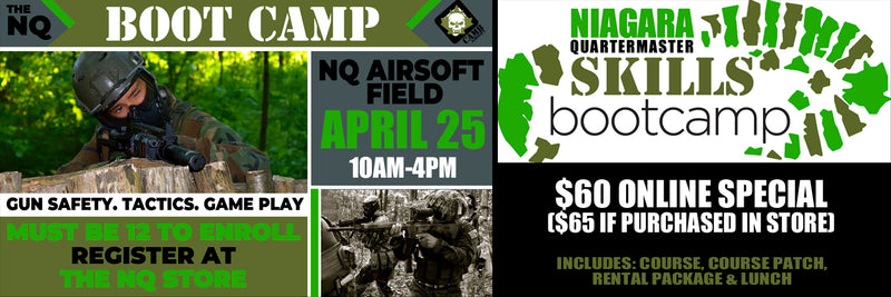 The NQ Boot Camp 2020 Event Ticket - April 25th