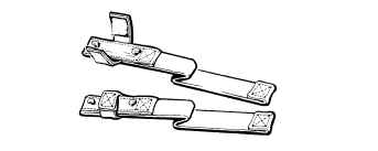 Canadian Force 82 Pattern - Hook Strap Assembly