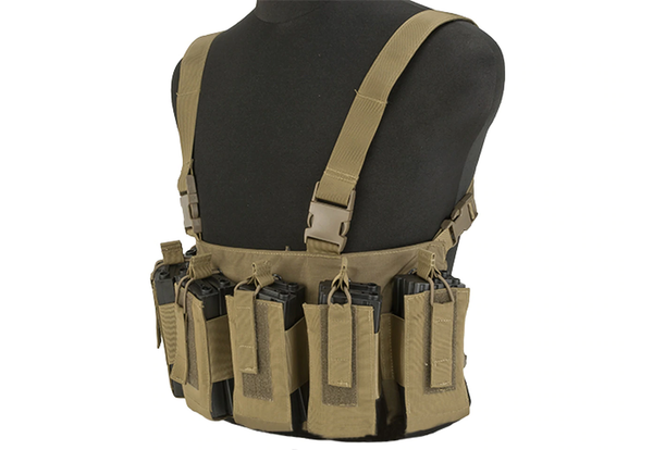 Gryffon Defense CR4 Low Profile Chest Rig - Tan