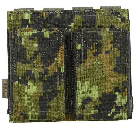 Shadow Elite M4 Elastic Open Top Double Mag Pouch - Niagara Quartermaster