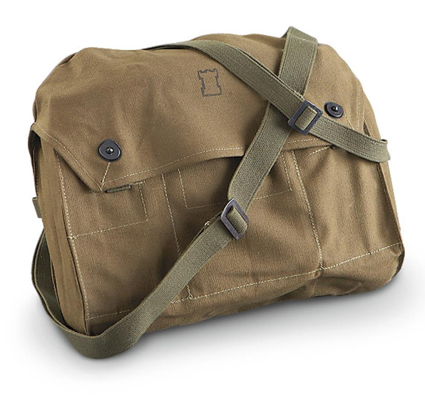 Finnish Shoulder Bag - Brown - Niagara Quartermaster