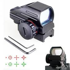 "Precision Dynamics ""Kestral"" Reflex 1x22x33 Red/Green Dot Sight - Black - Niagara Quartermaster"