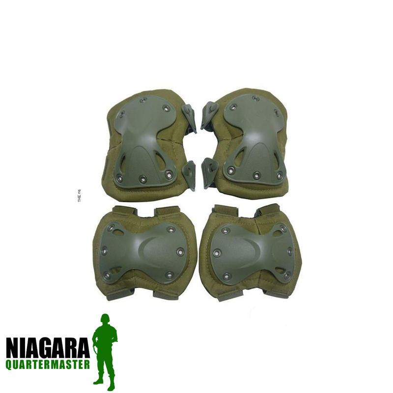 Krousis Knee and Elbow Pads Set
