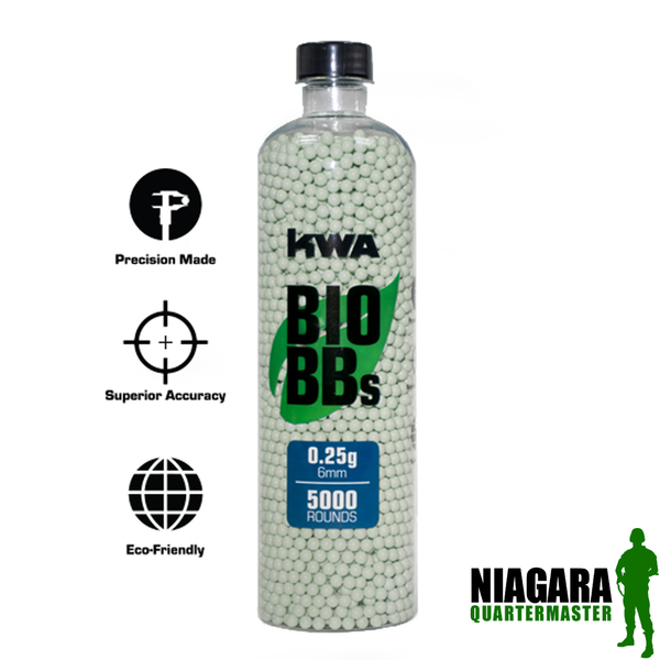 KWA .25 Bio BB Bottle - 5,000rds
