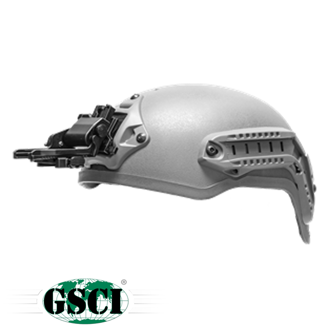GSCI Low-Profile Flip-Up Helmet Mount Shroud Ready - Niagara Quartermaster