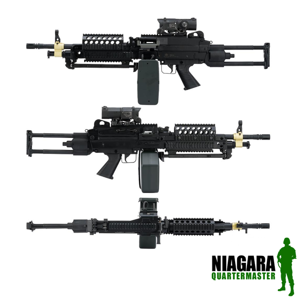 Cybergun FN Licensed M249 SPW Light Machine Gun
