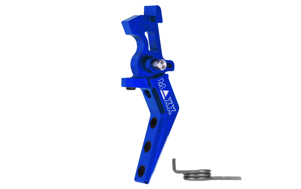 MAXX Model CNC Aluminum Advanced Speed Trigger (Style A) (Blue)