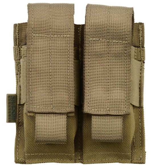 Shadow Elite  Direct Action Double Pistol Mag Pouch - Niagara Quartermaster