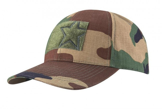 Propper 6 Panel Contractor Cap - Woodland - Niagara Quartermaster