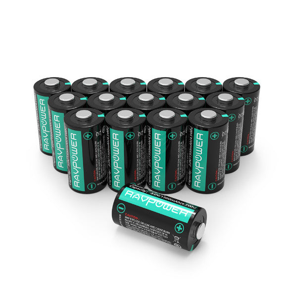 RAVPower CR123A Lithium Battery
