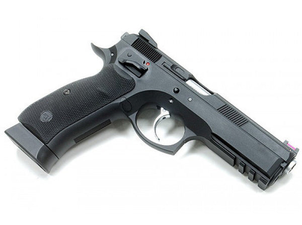 KJW CZ-75 SP-01 Shadow CO2 GBBP - Black - Niagara Quartermaster