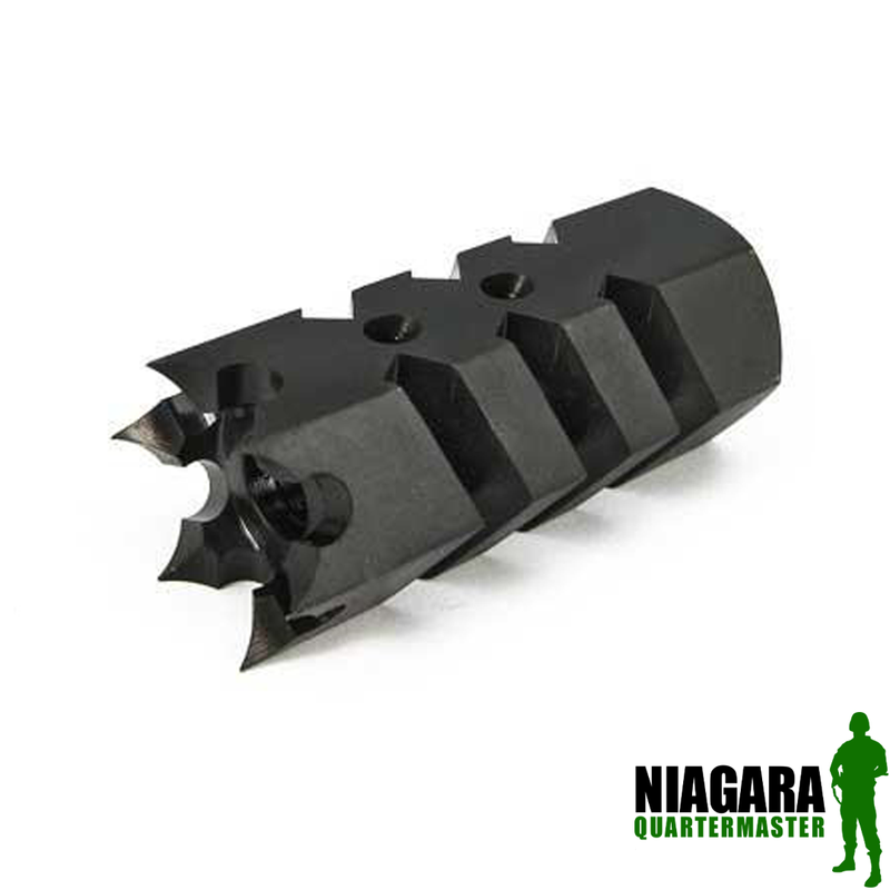 Airsoft Shark Flash Hider - 14mm CCW