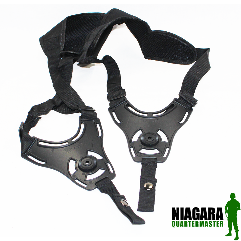 Cytac Shoulder Holster Harness - Black