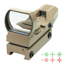Precision Dynamics Reflex 1x24 Red Dot Sight - Dark Earth - Niagara Quartermaster