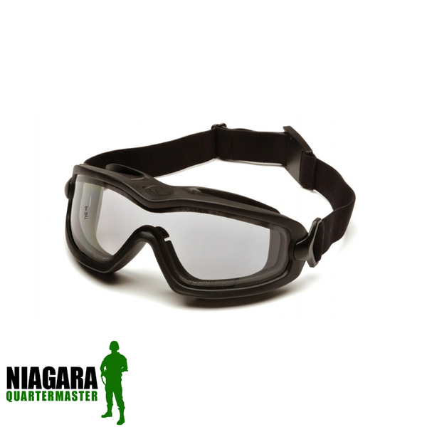 Pyramex V2G XPDual H2X Max Thermal Airsoft Goggles - Clear